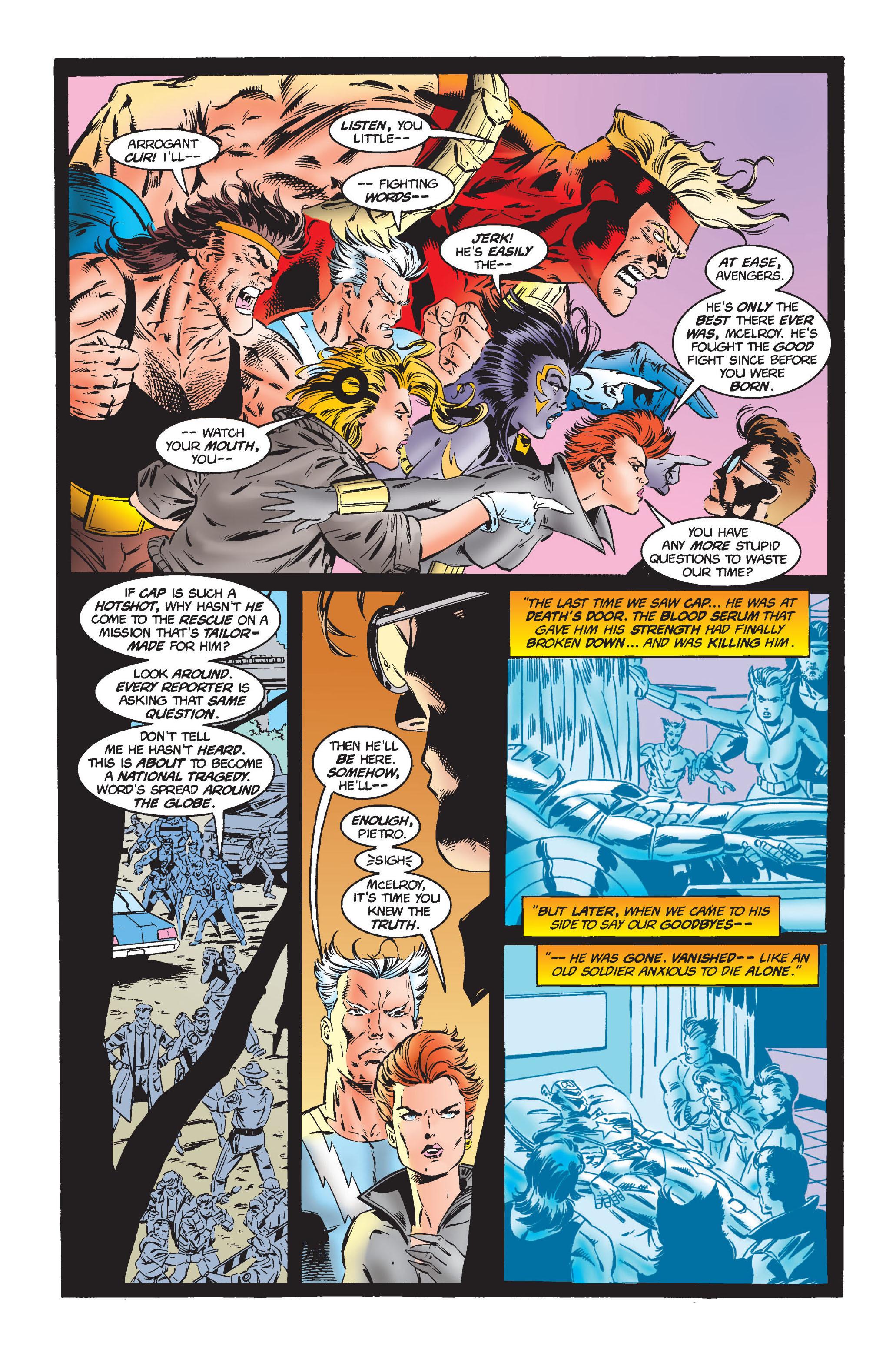 Captain America (1968) Issue #444 #398 - English 7