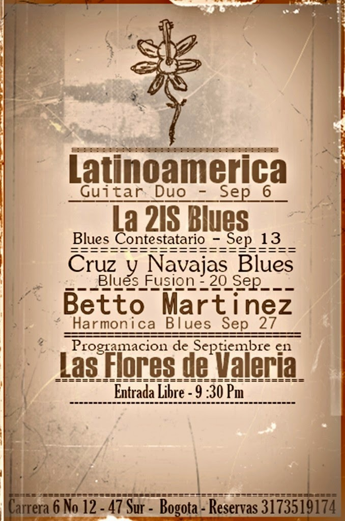 Blues Bogotano en Vivo
