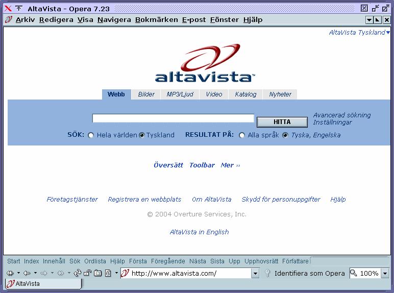 WebCrawler Search