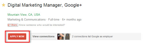 "Google Jobs ""Apply Now"" Button"