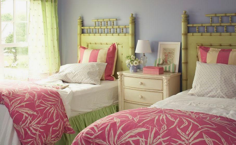 chambre pour deux filles