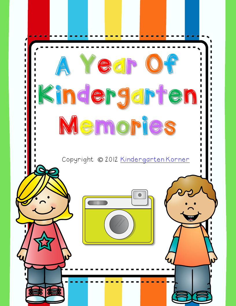 http://www.teacherspayteachers.com/Product/Kindergarten-ScrapbookMemory-Book-299048
