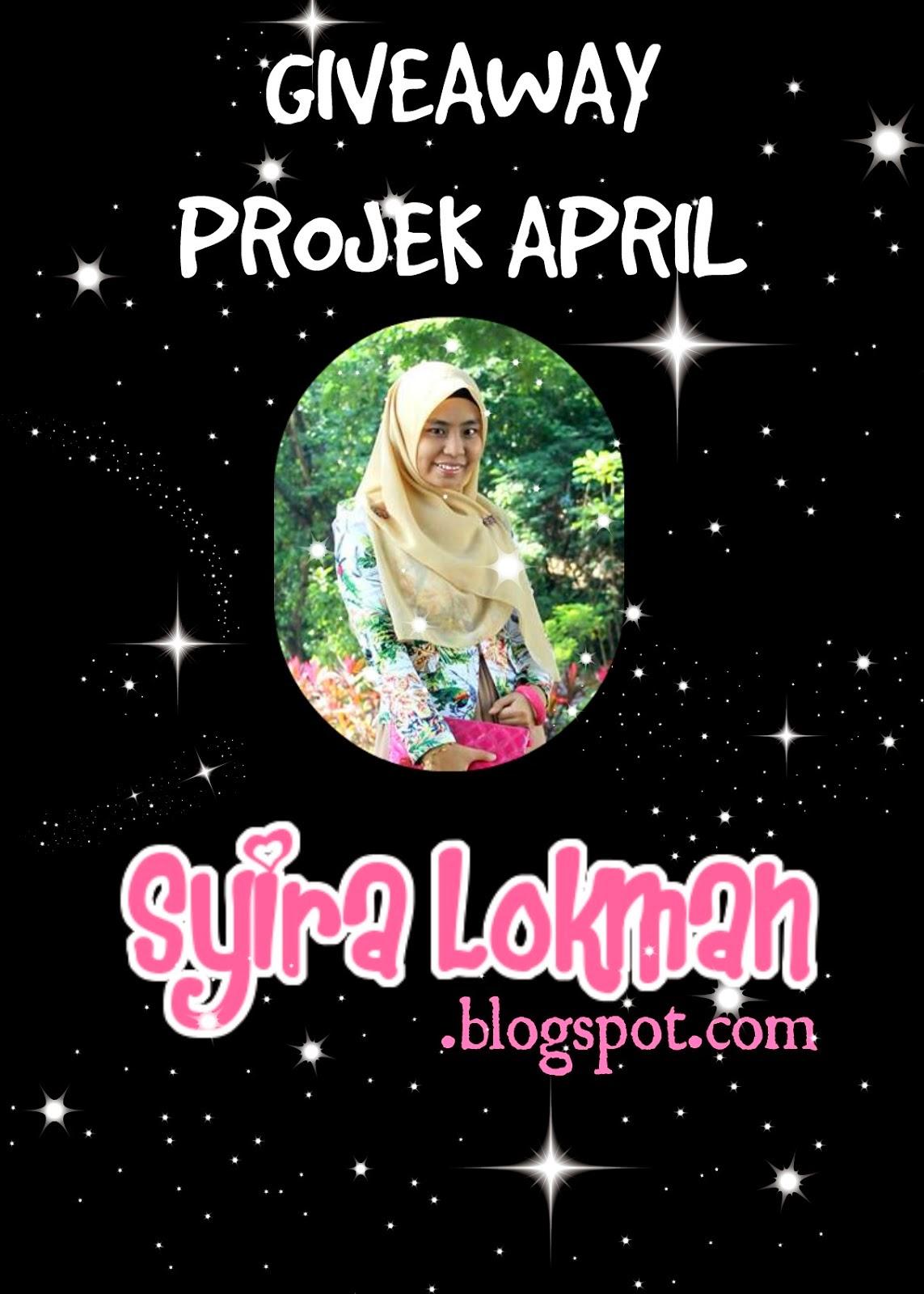 Giveaway PROJEK APRIL by Syira Lokman