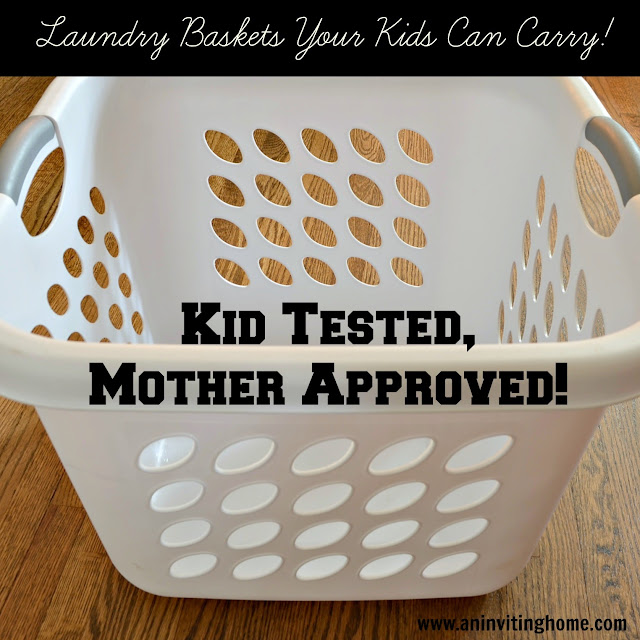 laundry baskets that work great for the whole family