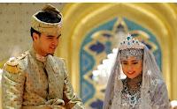 Princess Hafizah Sururul Bolkiah and Pengiran Haji Muhammad Ruzaini