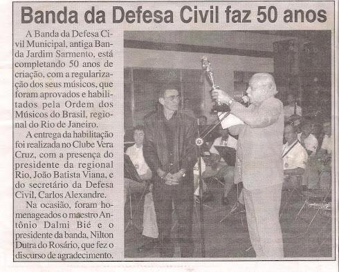 ORQUESTRA DA DEFESA CIVIL