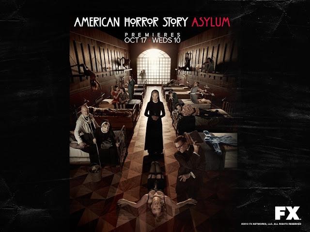 American Horror Society Asylum Wallpaper