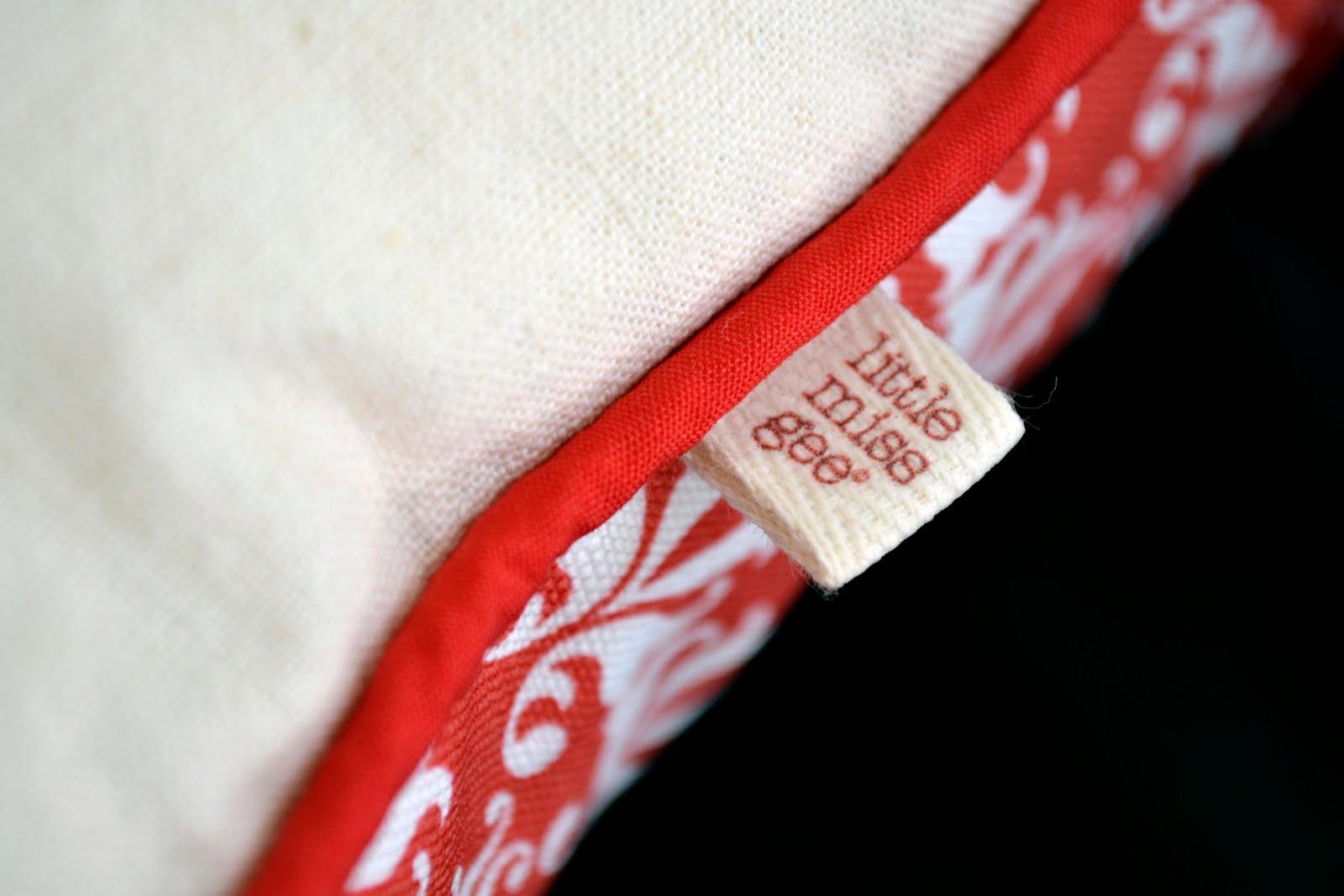 Babushka Cushion in Red