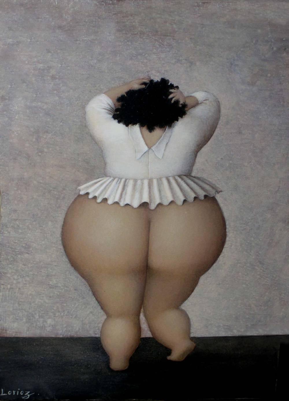 Попы толстушек