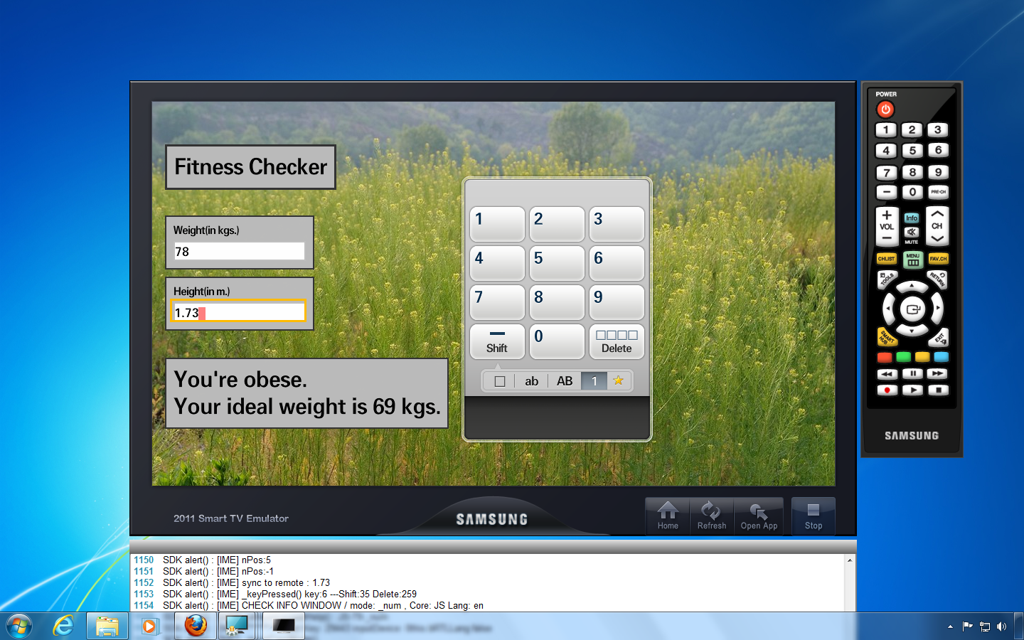Technical Notings Creating Apps For The Samsung Smart Tv