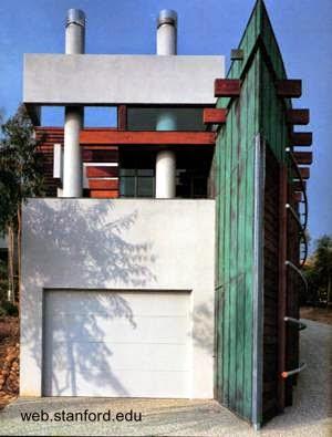 Casa posmoderna Crawford Residence