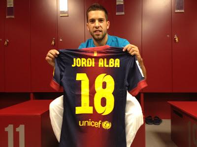 Jordi Alba - FC Barcelona Widescreen Wallpapers