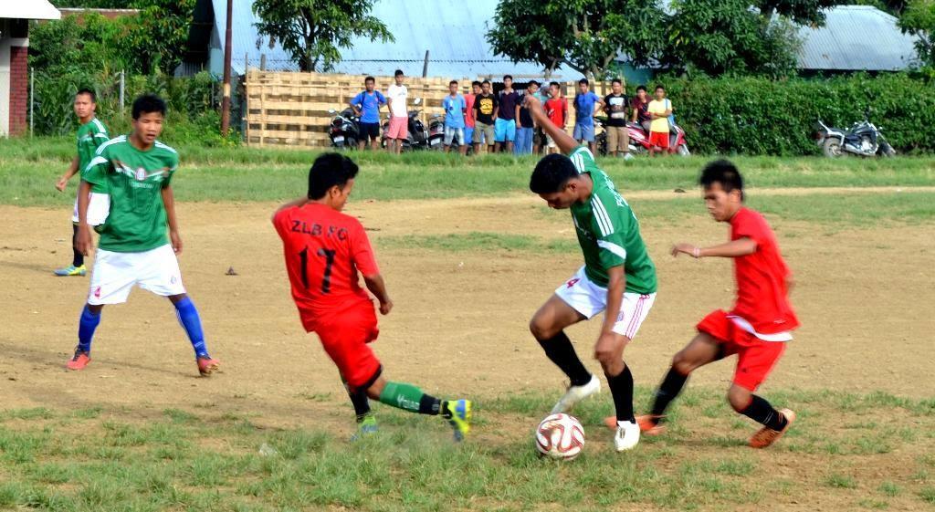 Huihchim FC leh Ngaium FC  vualzou