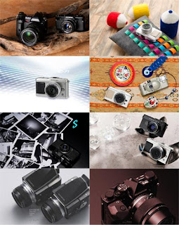 Широкоформатные высокого качества обои для рабочего стола Фотоаппараты Olympus