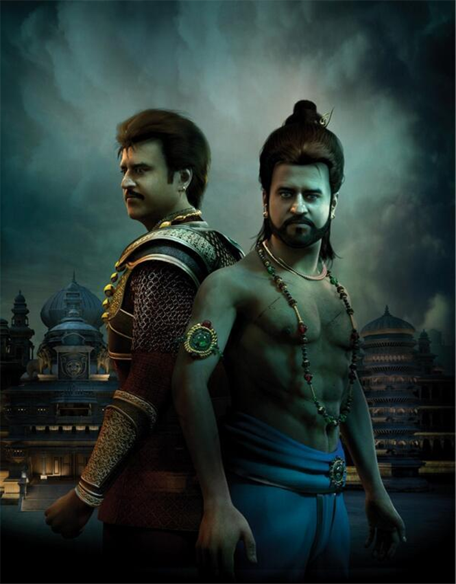 Superstar Rajnikanth's Kochadaiyan First Look