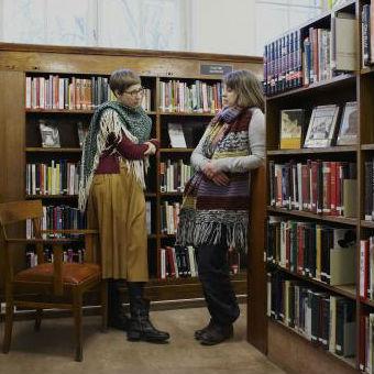 De bibliotheek van levende boeken bibliothecaris in blog - Fotos van levende ...