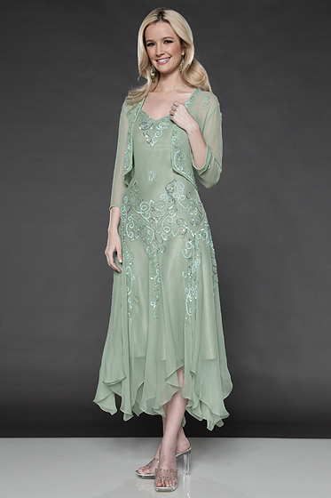 Casual Mother of the Bride Gown