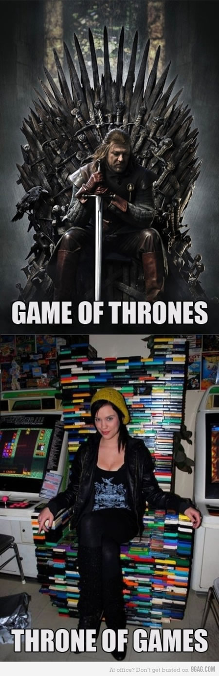 Game of Thrones ou Throne of Games