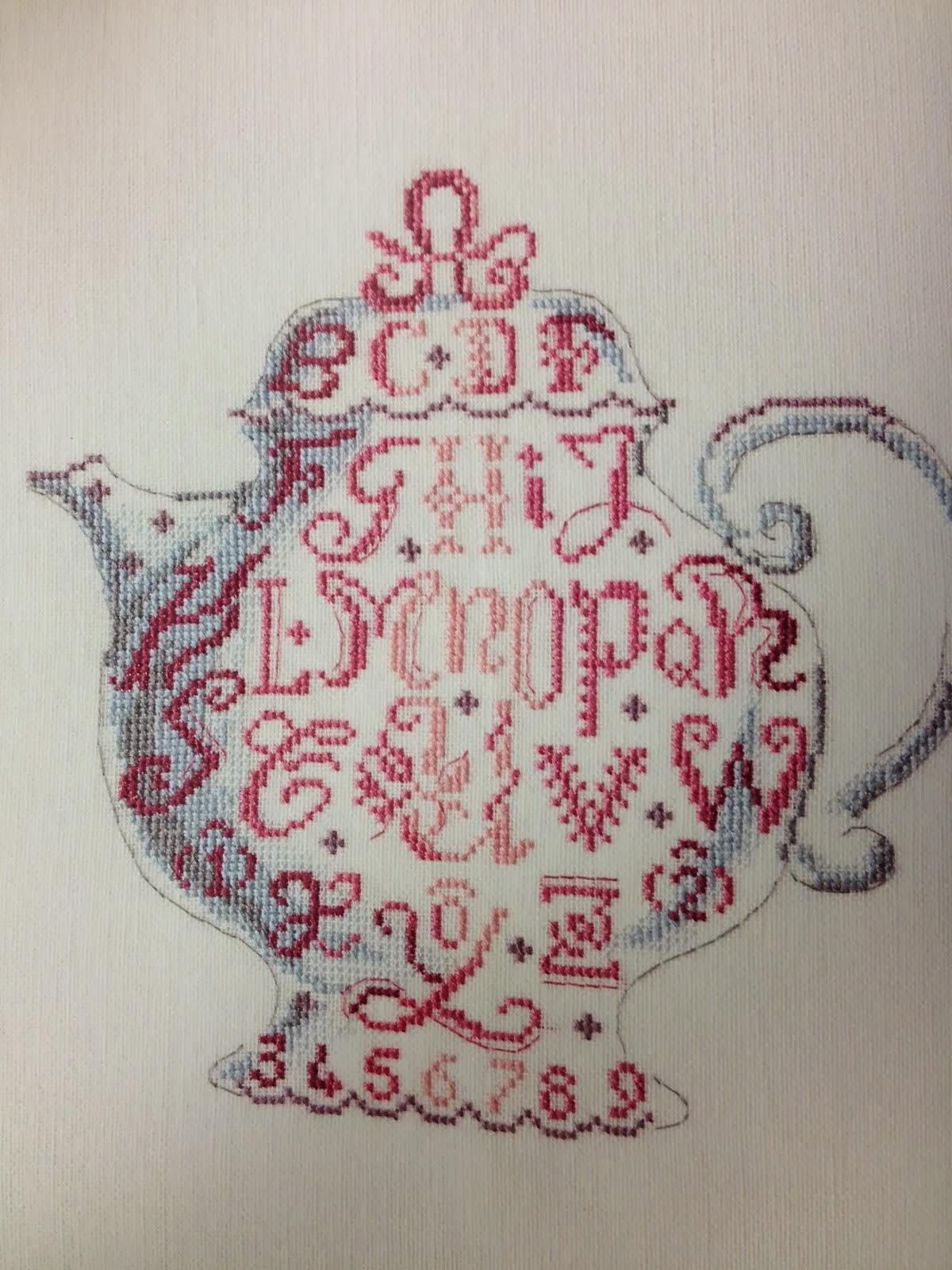 Borduurcafe door Tammy v.d. Stelt