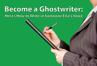 Become a Ghostwriter: How to Write in Someone Else's Voice, guest post by Linda Craig