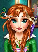 Анна Фрозен Прически - Онлайн игра для девочек