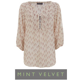 Carole Middleton Style MINT VELVET Flamingo Printed Blouse