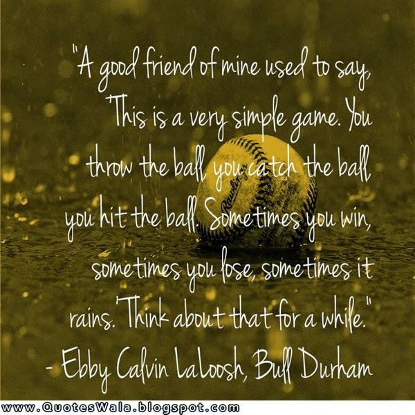 baseball friendship quotes