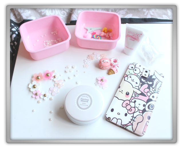 My Precious Etude House Any Cushion Case DIY decoden kit flower holic eat play love do it yourself