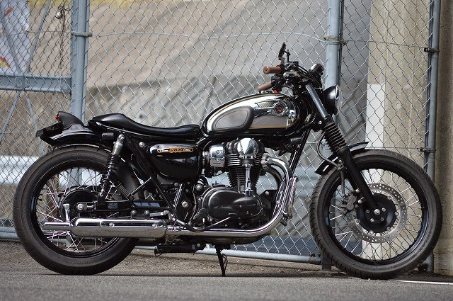 Kawasaki W800 By An Bu