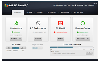 AVG PC TuneUp 2014 free Download with Serial key | My Free Downloads