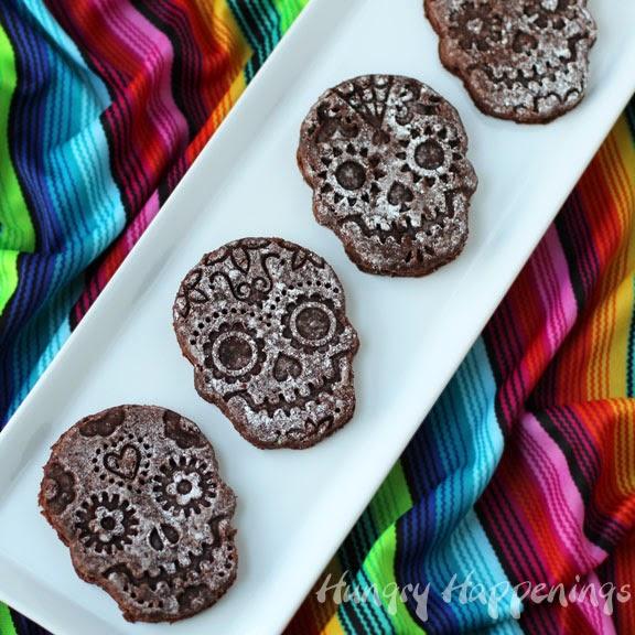 Sugar Skull Brownies