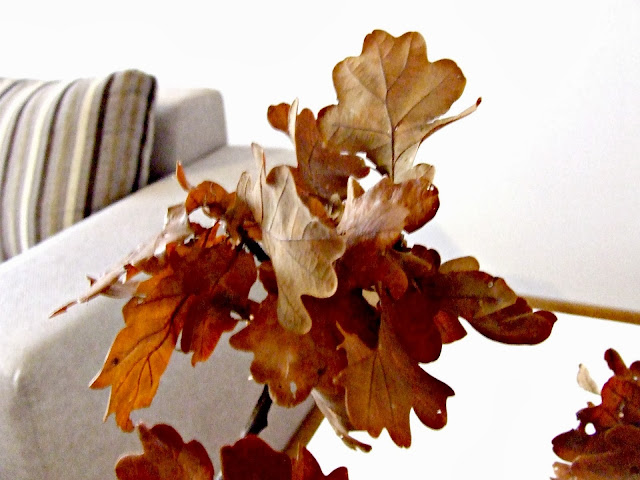 jesień w domowych wnętrzach