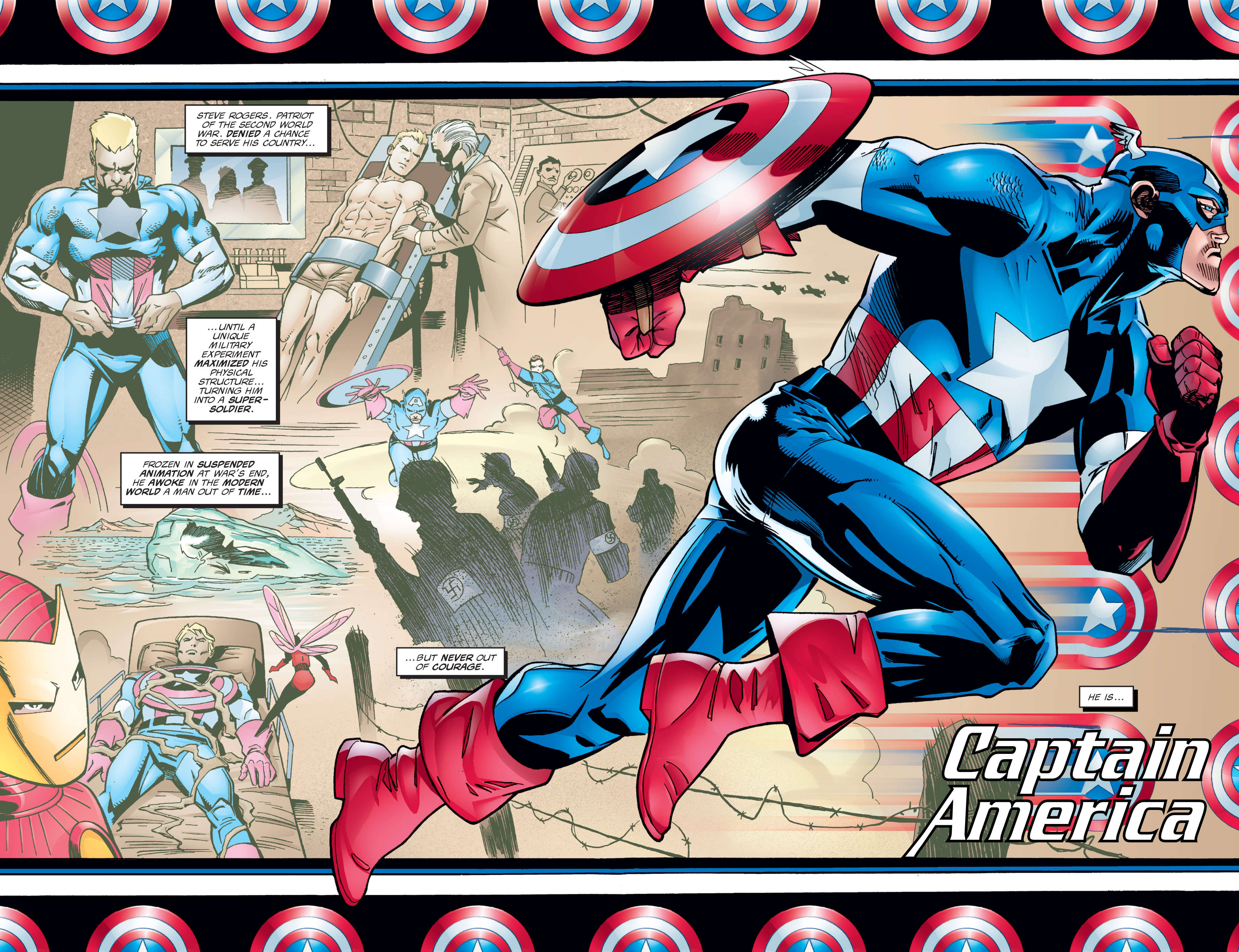 Captain America (1998) Issue #1 #4 - English 9