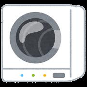 乾燥機のイラスト