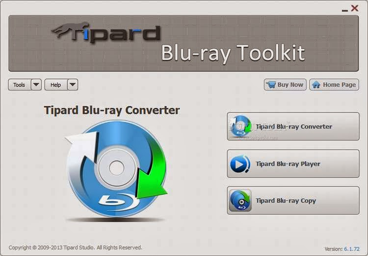 Tipard Blu-ray toolkit