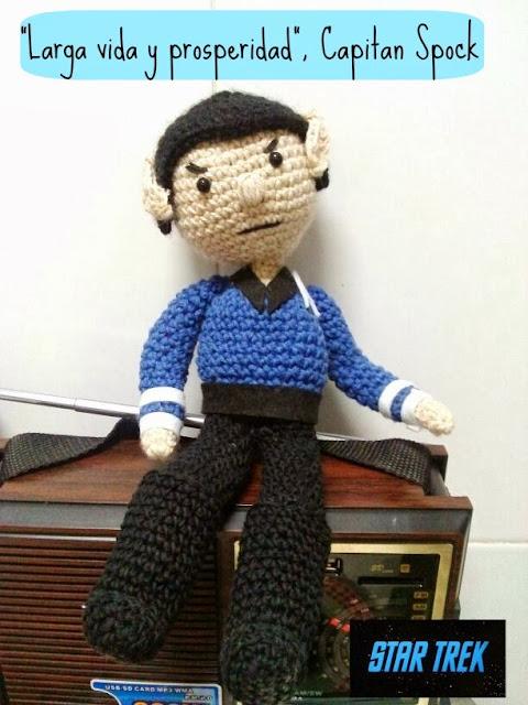 Capitan Spock amigurumi