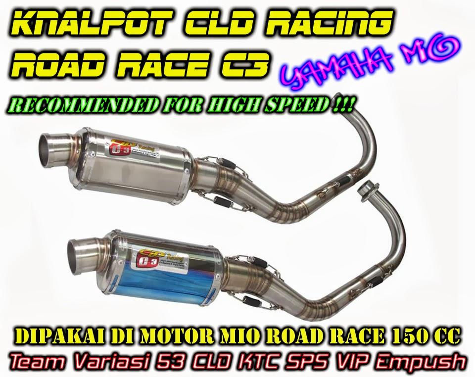 Knalpot CLD Racing Yamaha Mio Road Race C3 | Tabloid Ototrend