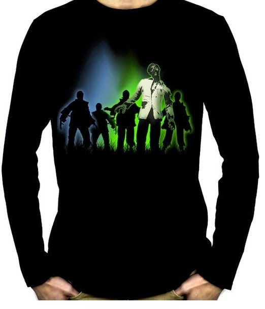 Walking Dead Shirt Zombie Herd