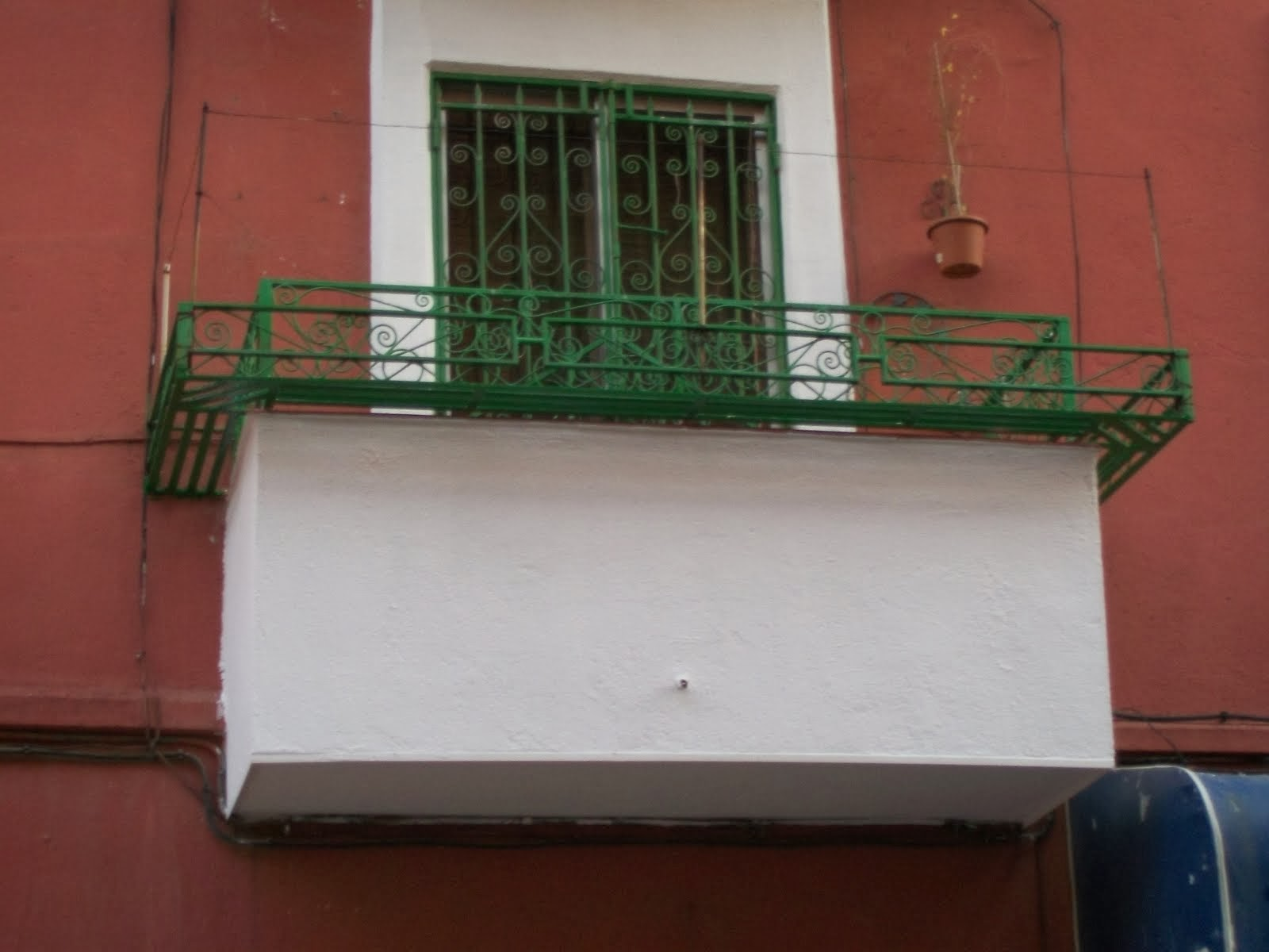 Pintar balcones