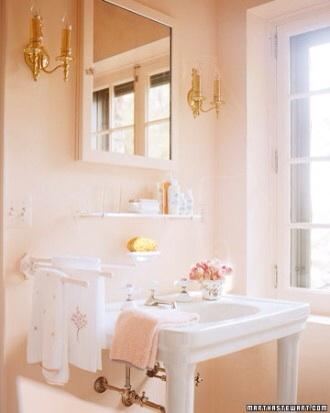 Avery Street Design Blog February - Martha stewart bathroom colors
