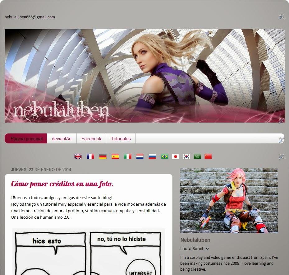 Maya nebulaluben cosplay