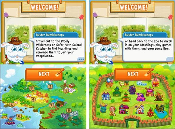 Moshi Monsters Moshling Zoo on Nintendo DS