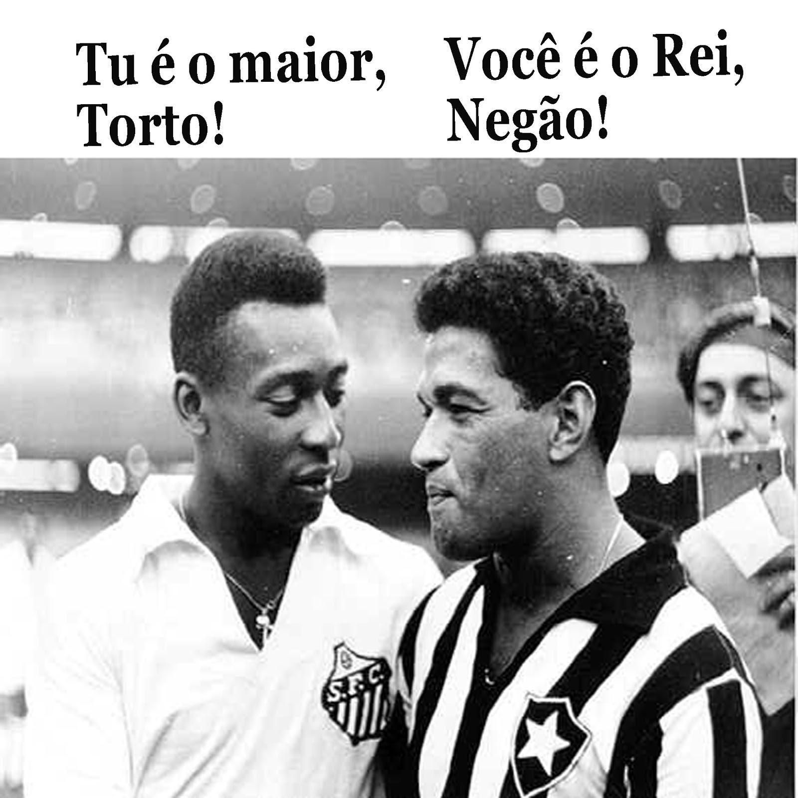 Literatura na Arquibancada Quem foi melhor Pelé ou Garrincha
