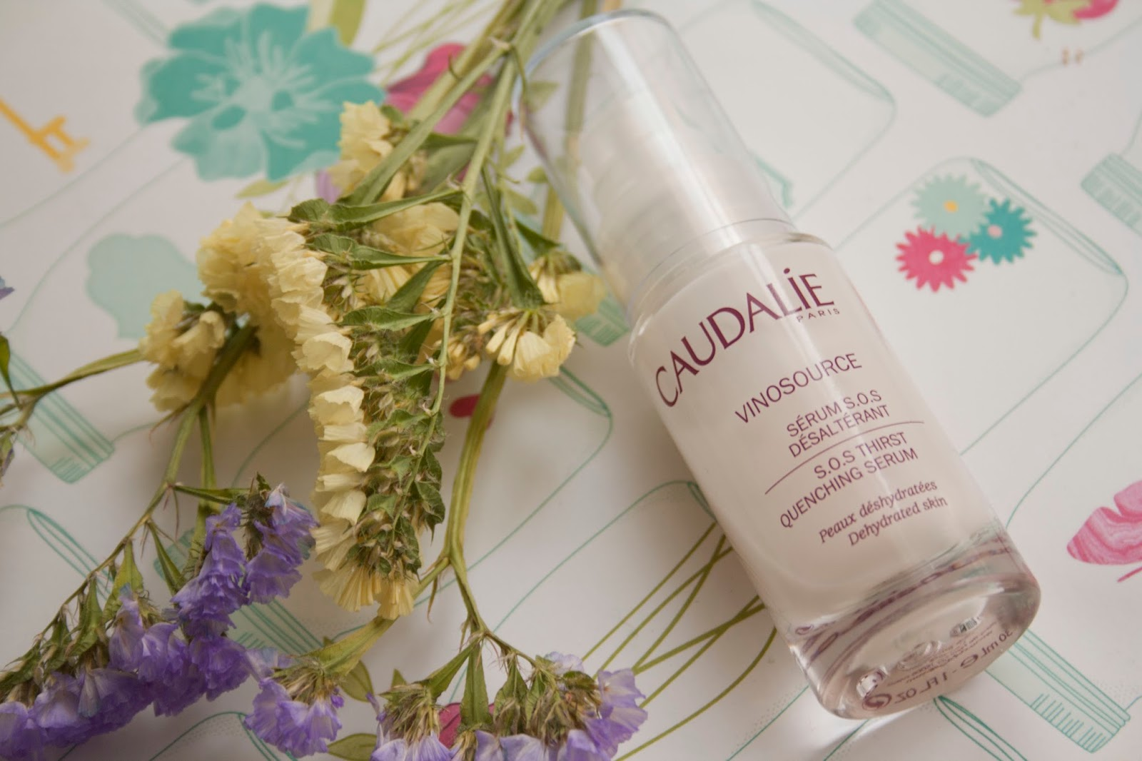 Caudalie Vinosource SOS Serum.