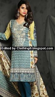 RajBari Embroidered Linen Fall Winter