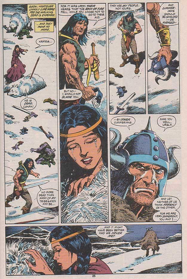 Conan the Barbarian (1970) Issue #258 #270 - English 20