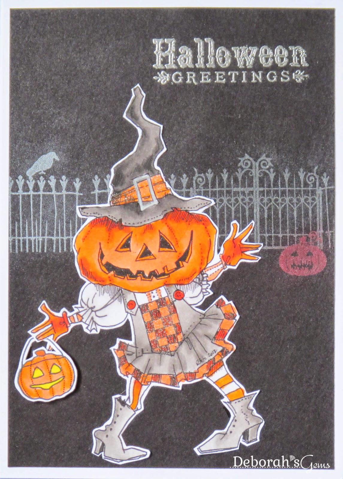 Halloween Greetings - photo by Deborah Frings - Deborah's Gems