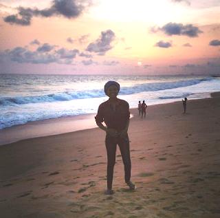 Nigerian schoolgirl