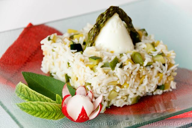 Creando en la cocina nidos de arroz con huevos y - Calorias arroz a la cubana ...