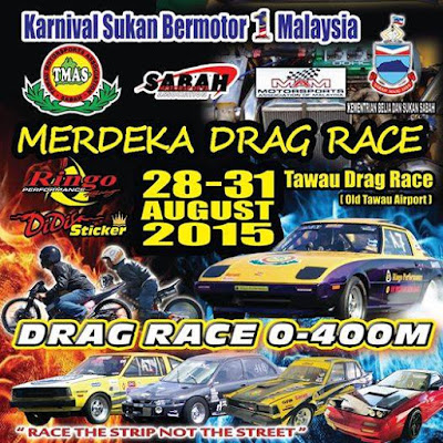 Stay @ J3 Homestay Tawau For Drag Race 2015